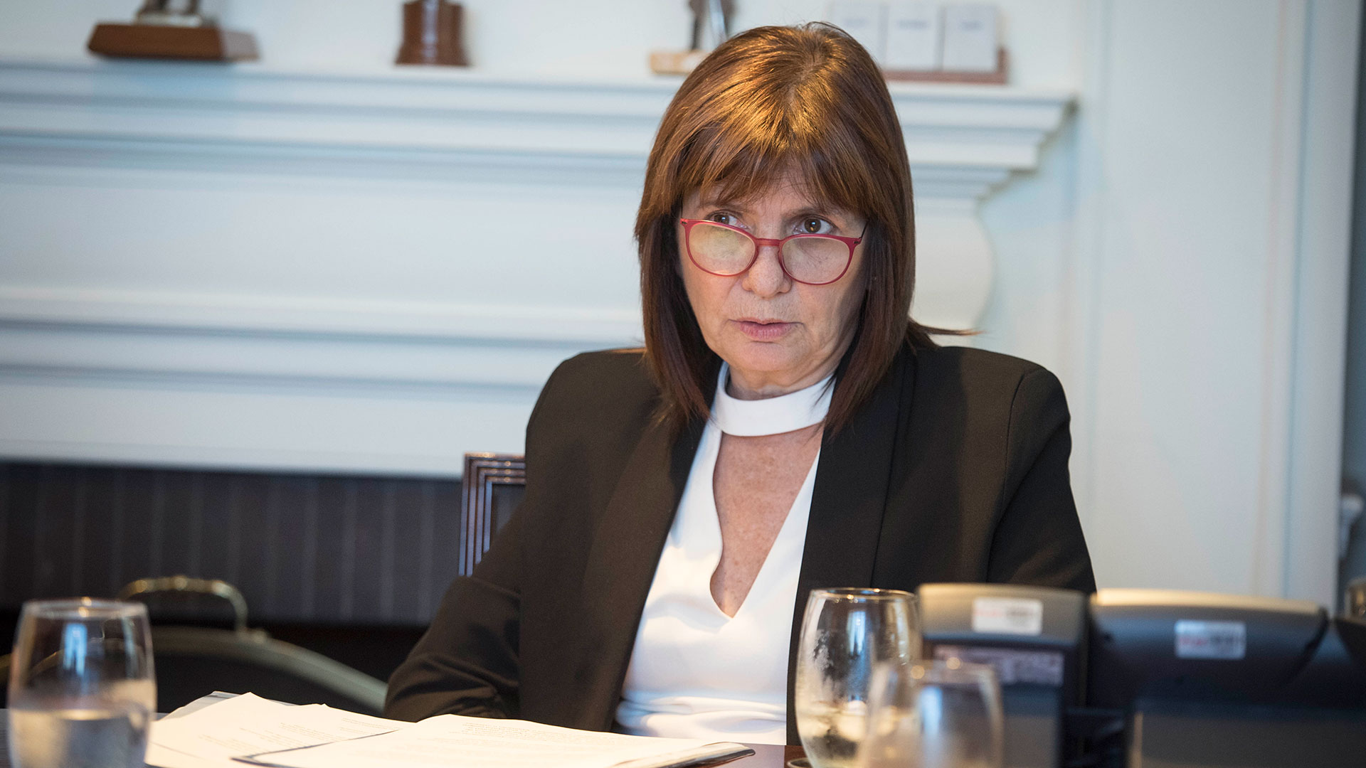 Patricia Bullrich, ministra de Seguridad de la Nación (foto: Guille Llamos)
