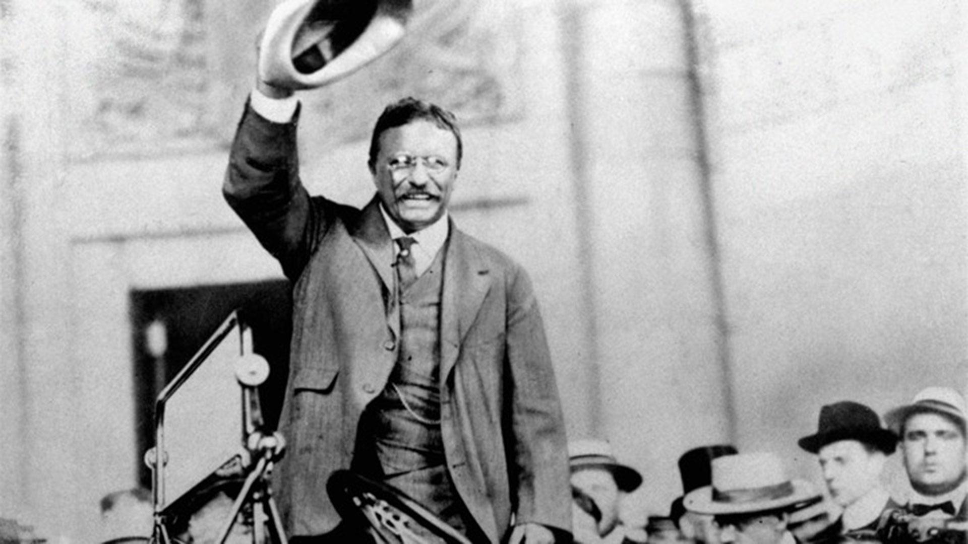 Theodore Roosevelt fue presidente de los Estados Unidos de 1901 a 1909