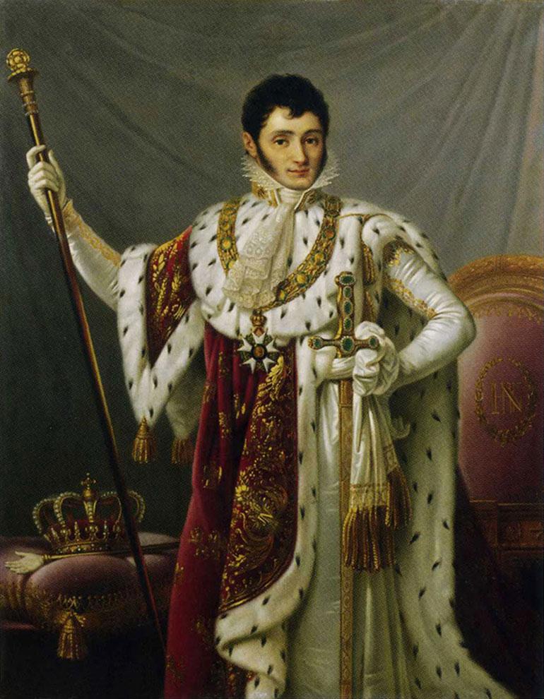 Jerónimo Bonaparte (1784-1860) era el menor de los hermanos de Napoleón. De su matrimonio con una joven de Baltimore surgió la rama estadounidense de la familia