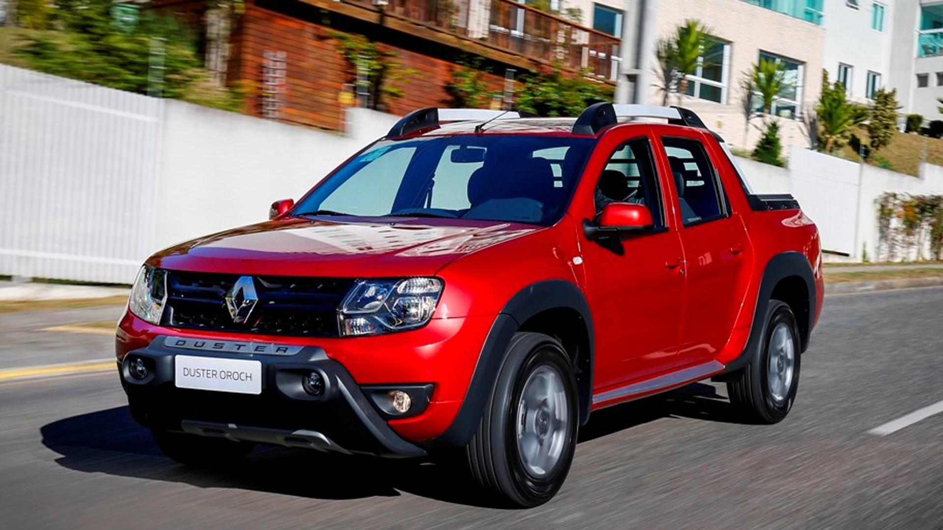 Renault Duster Oroch. Se vende en el país desde 2016 y será uno de los rivales de la pick up Volkswagen. Foto: Renault.