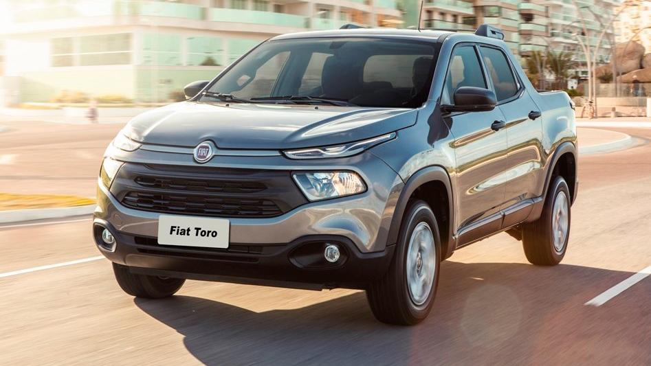 """Fiat Toro. También desde 2016 en el mercado local, es una futura competidora directa de la """"chata"""" de Volkswagen. Foto: Fiat."""