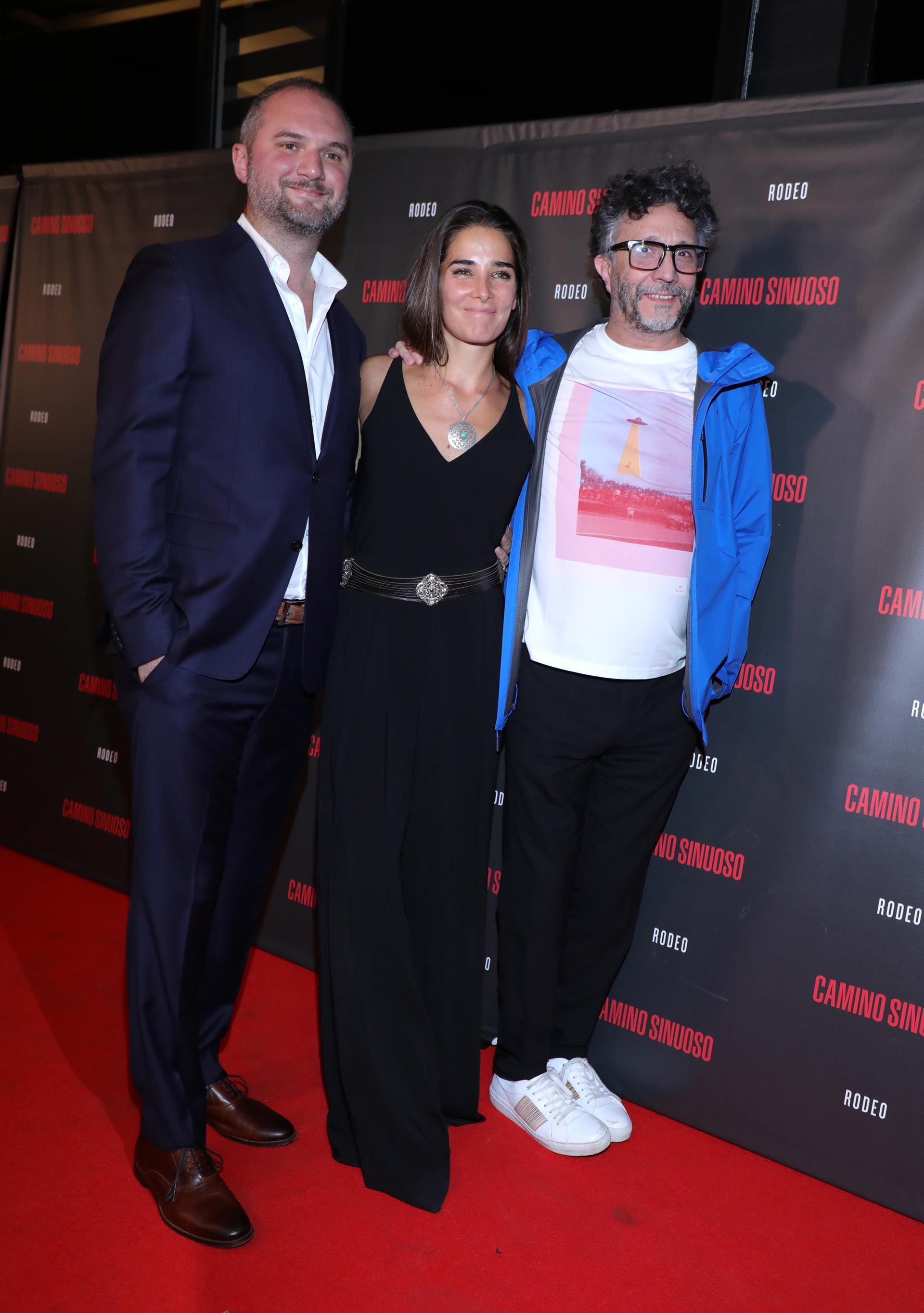 Juan Pablo Kolodziej, Juana Viale y Fito Páez