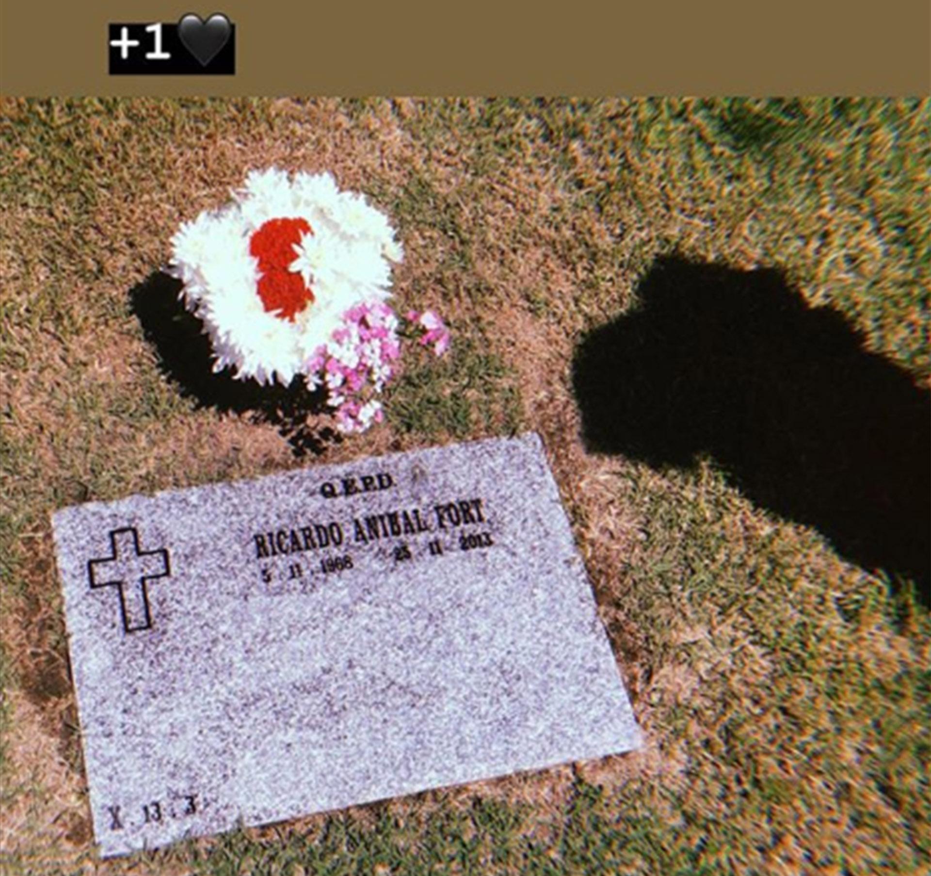 El posteo de Marta Fort, recordando a su padre, Ricardo (Foto: Instagram)