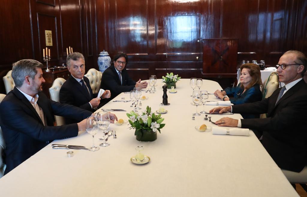 Garavano, Macri y Peña recibieron a Rosenkrantz y Highton de Nolasco