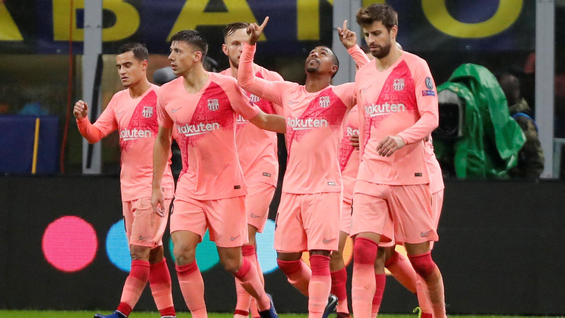 Malcom, autor del gol en la igualdad ante Inter (Reuters)