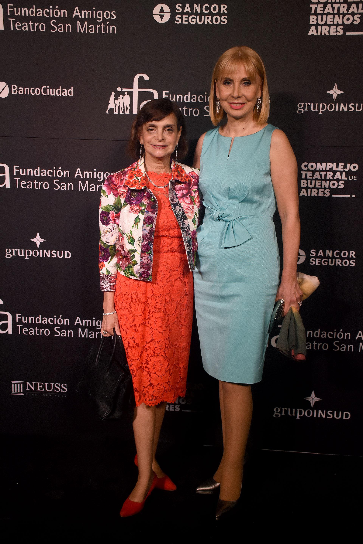 Claudia Stad y María Victoria Alcaraz