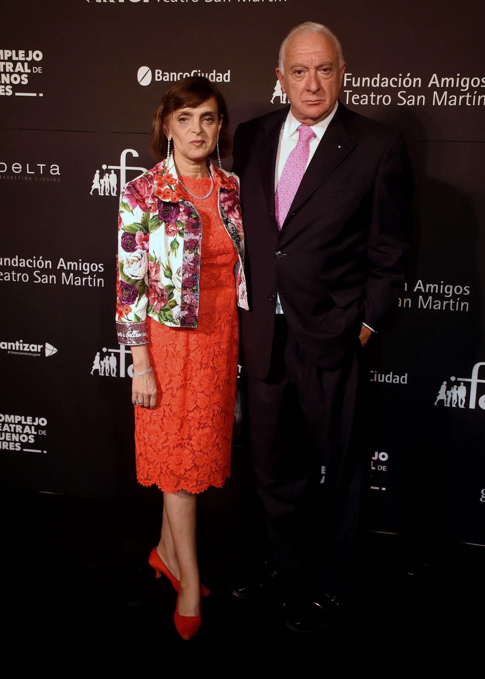 Claudia Stad y Norberto Frigerio