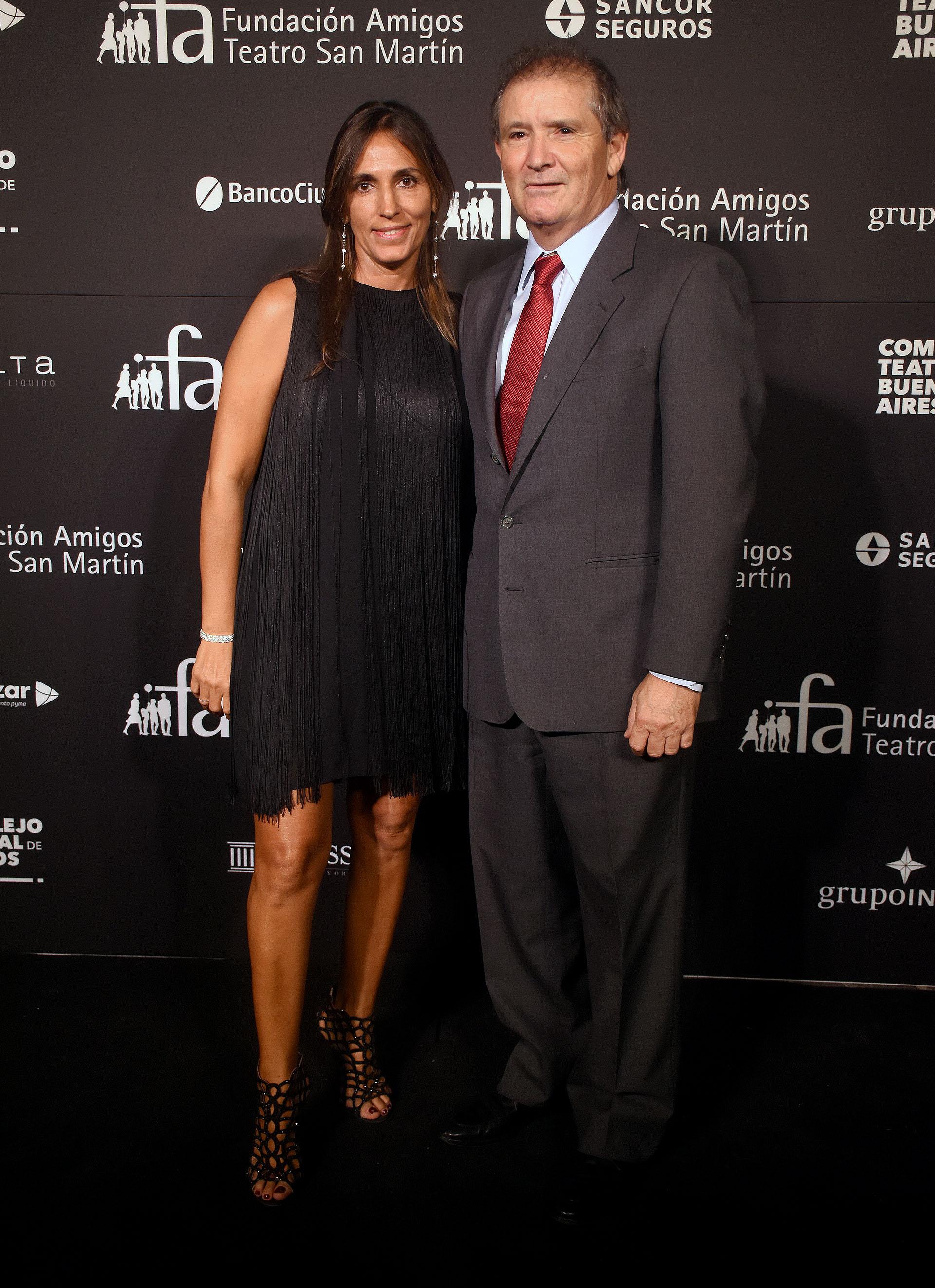 El empresario petrolero José Esteves y su mujer Cecilia Santa Cruz