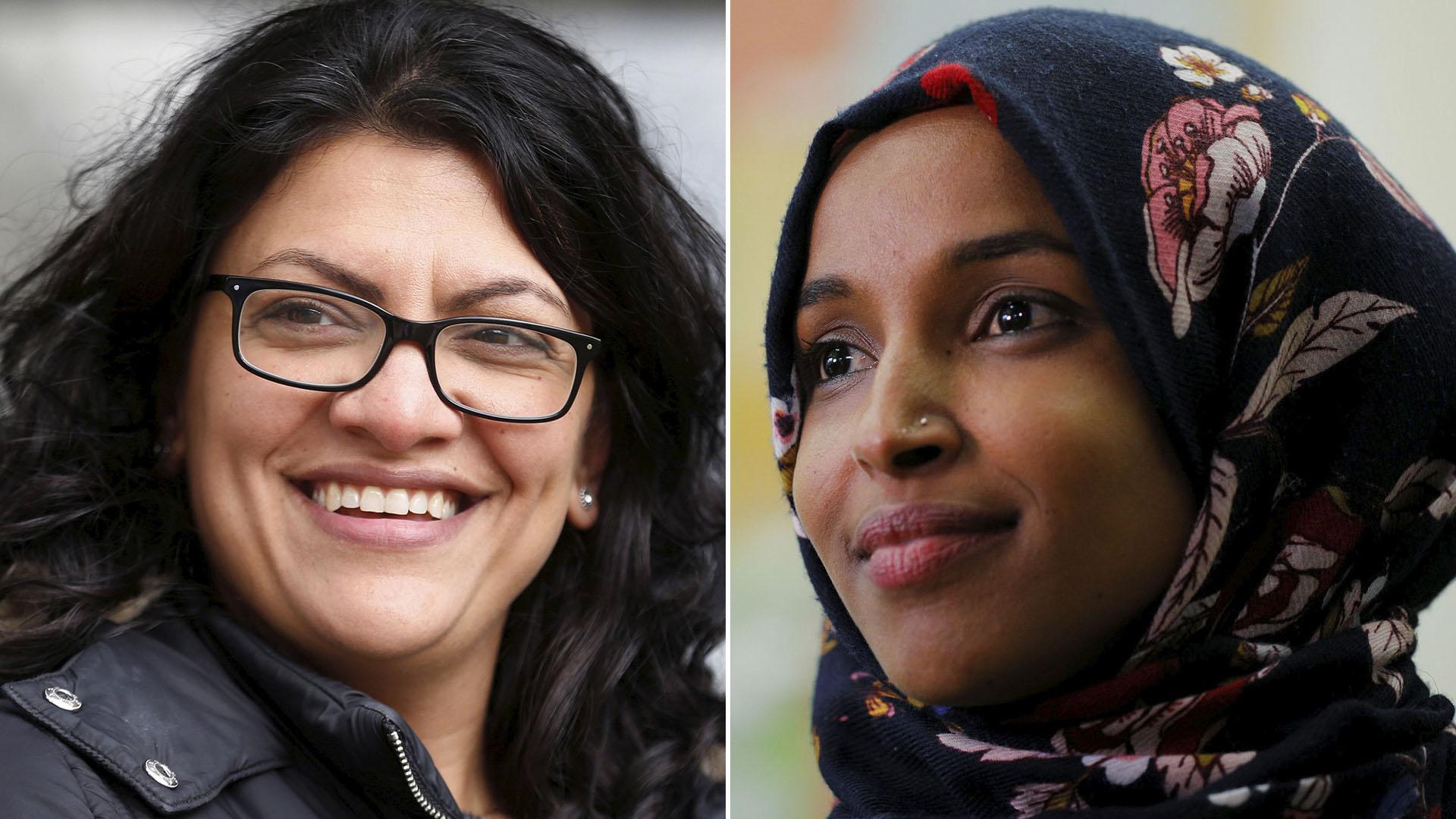 Rashida Tlaib y Ilhan Omar
