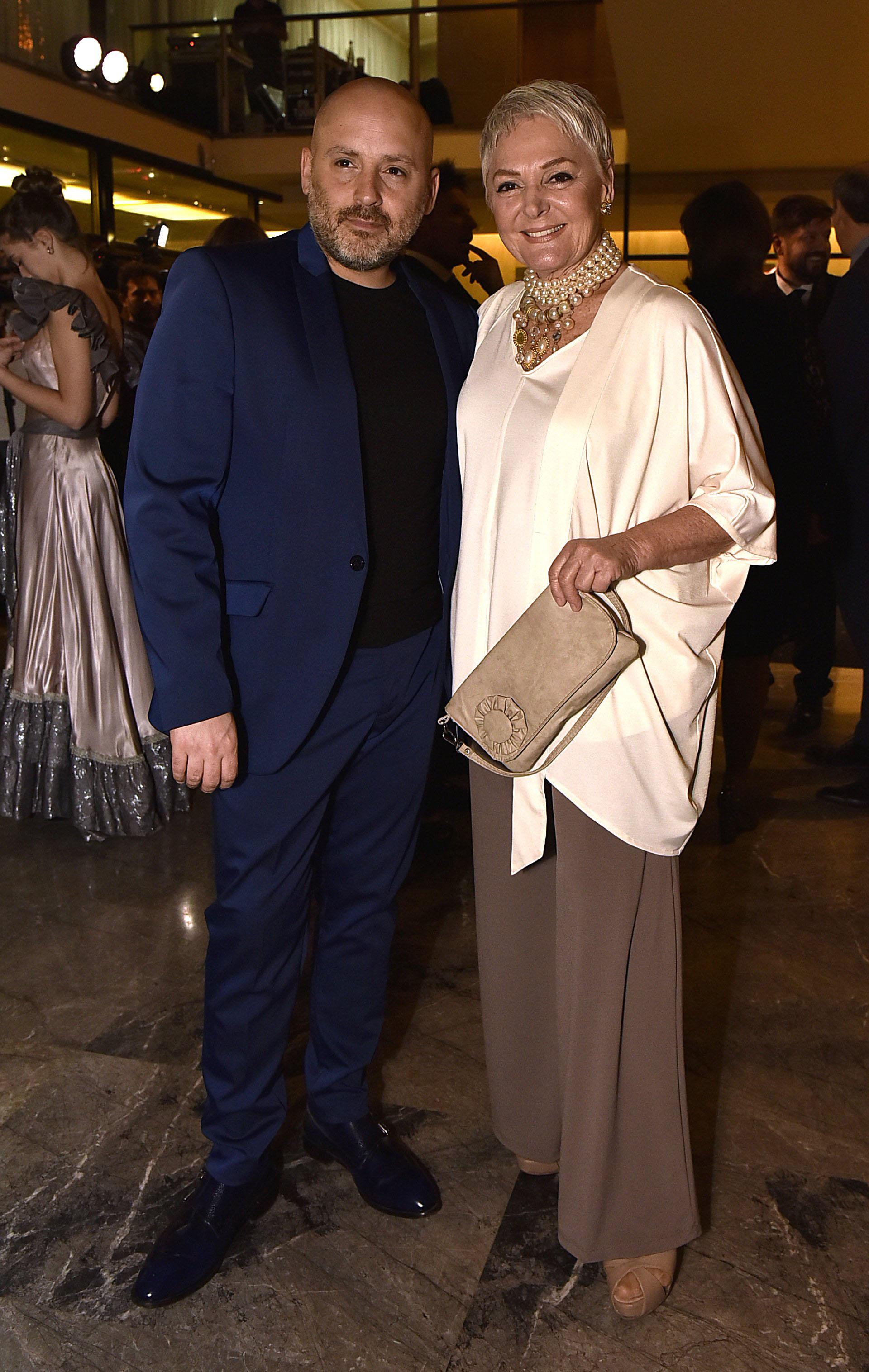 José María Muscari y Claudia Lapacó