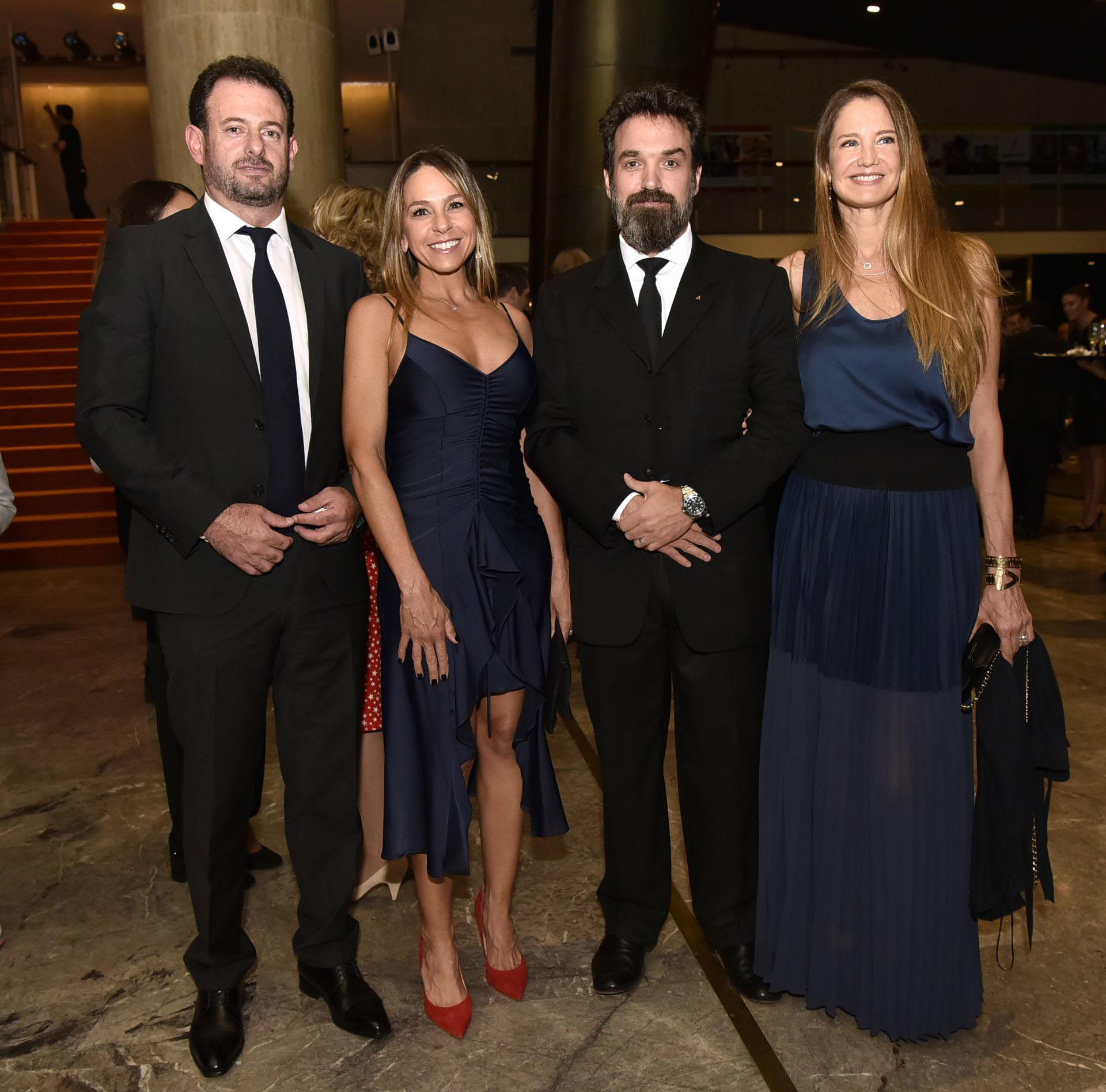 José y Soledad Urtubey junto a Sebastián Bagó y Roxana Zarecki