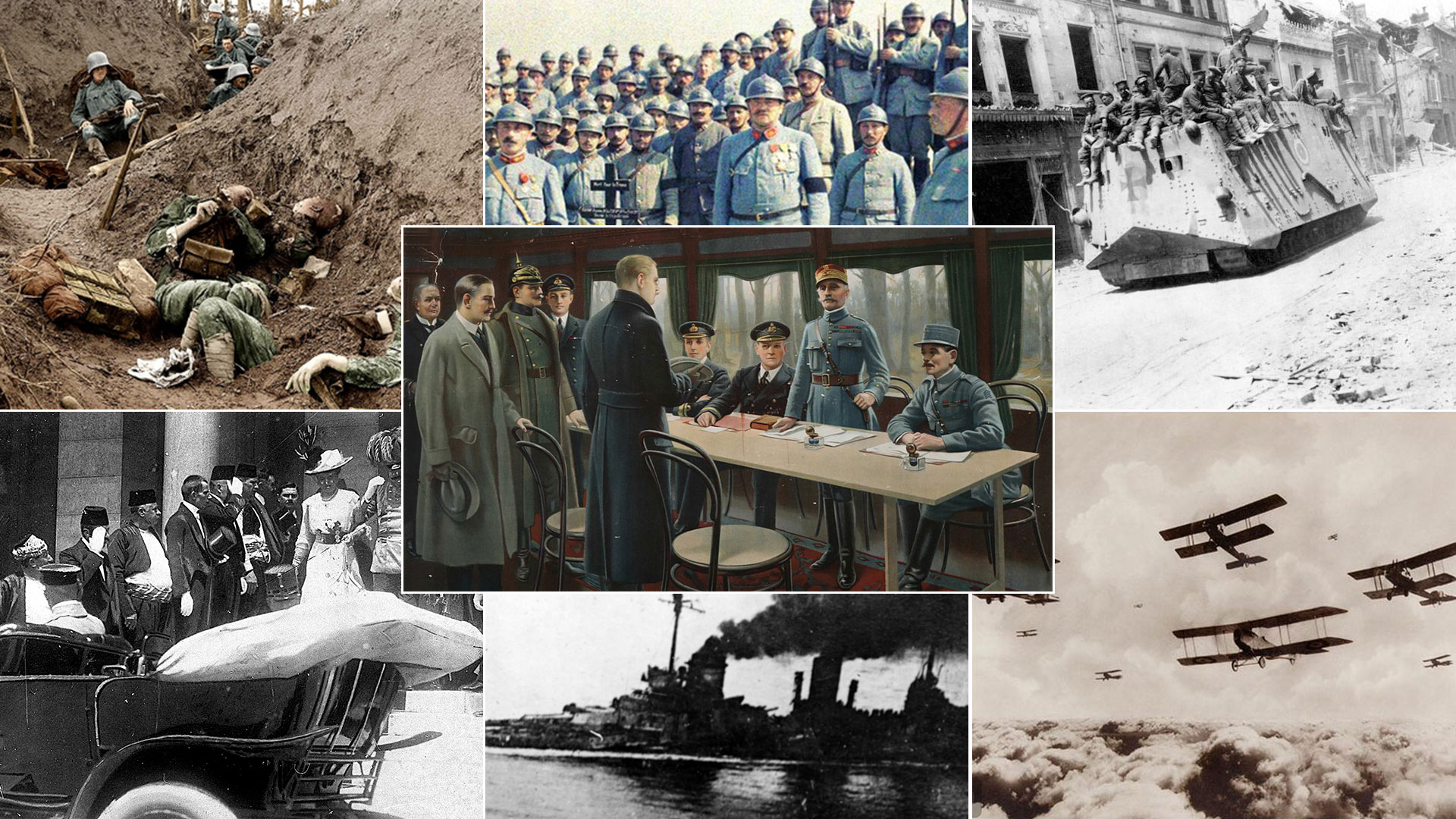 Los cuatro de años de guerra afectaron a todo el mundo y marcaron las décadas posteriores