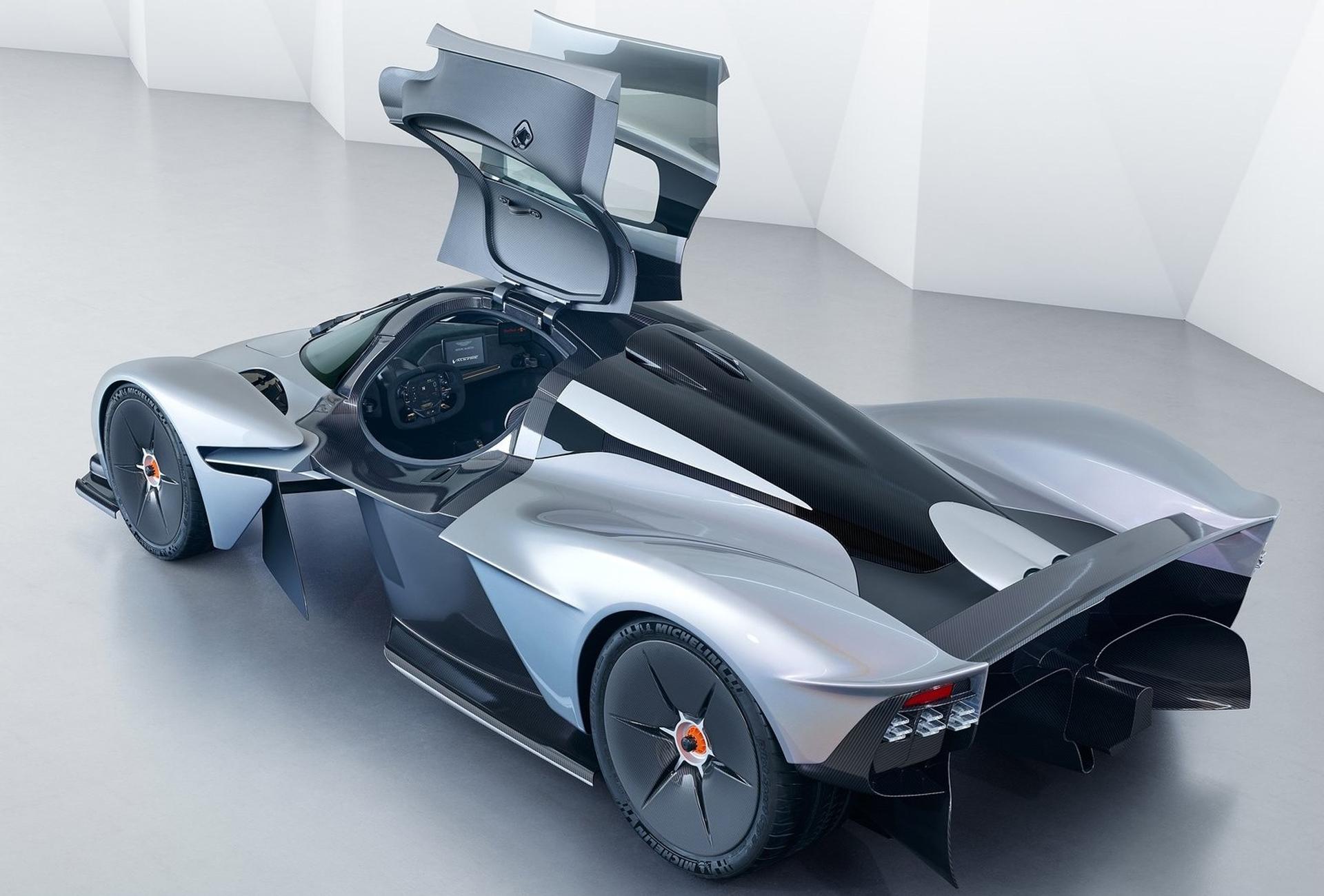 El Aston Martin Valkyrie es un súper auto del que fabricarán 150 unidades a 3 millones de euros cada una.