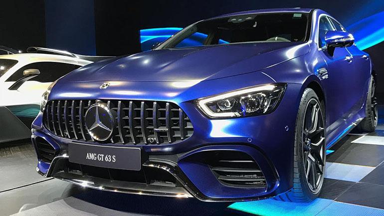 Así luce el interior del Mercedes-AMG GT