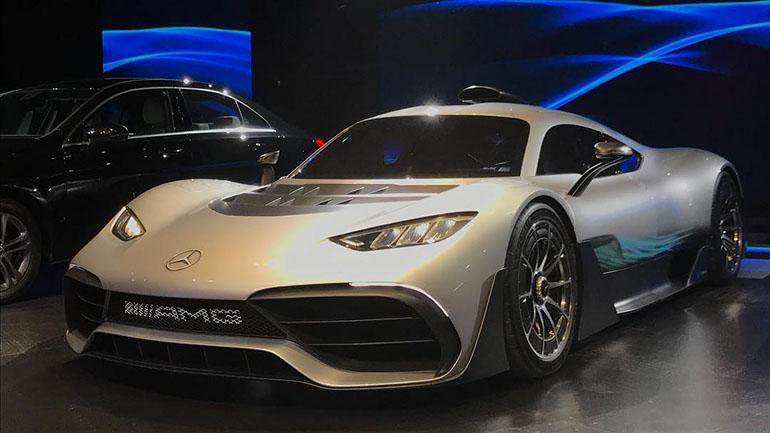 Mercedes-AMG Project One supera los 300 kilómetros por hora de velocidad máxima
