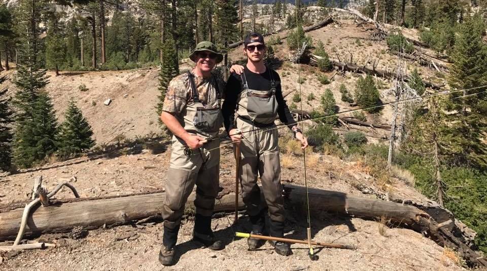 Ron Helus (a la izquierda), en una imagen compartida en su perfil de Facebook