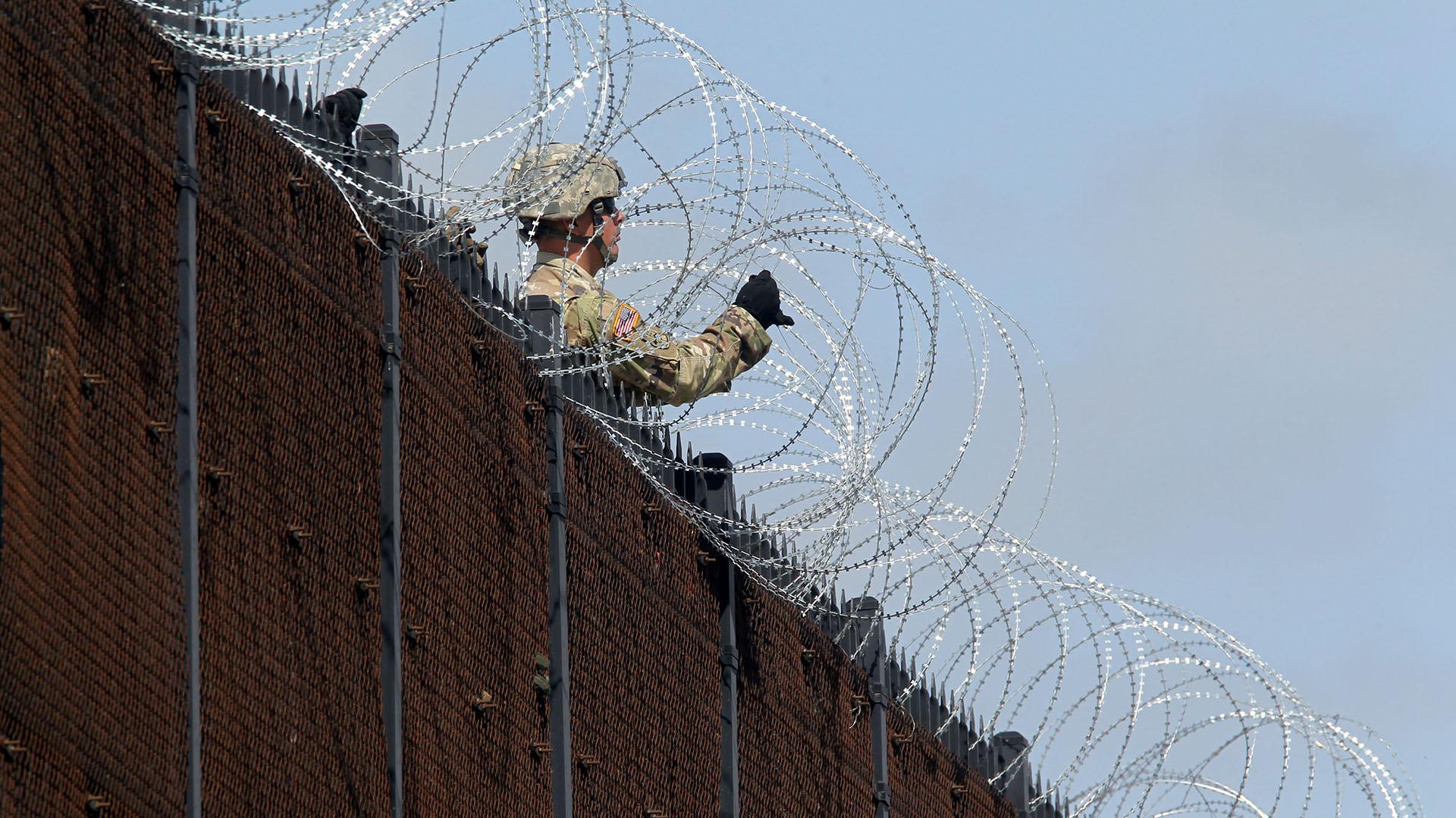 McAllen, Texas, en la frontera con México. (REUTERS/Delcia Lopez)