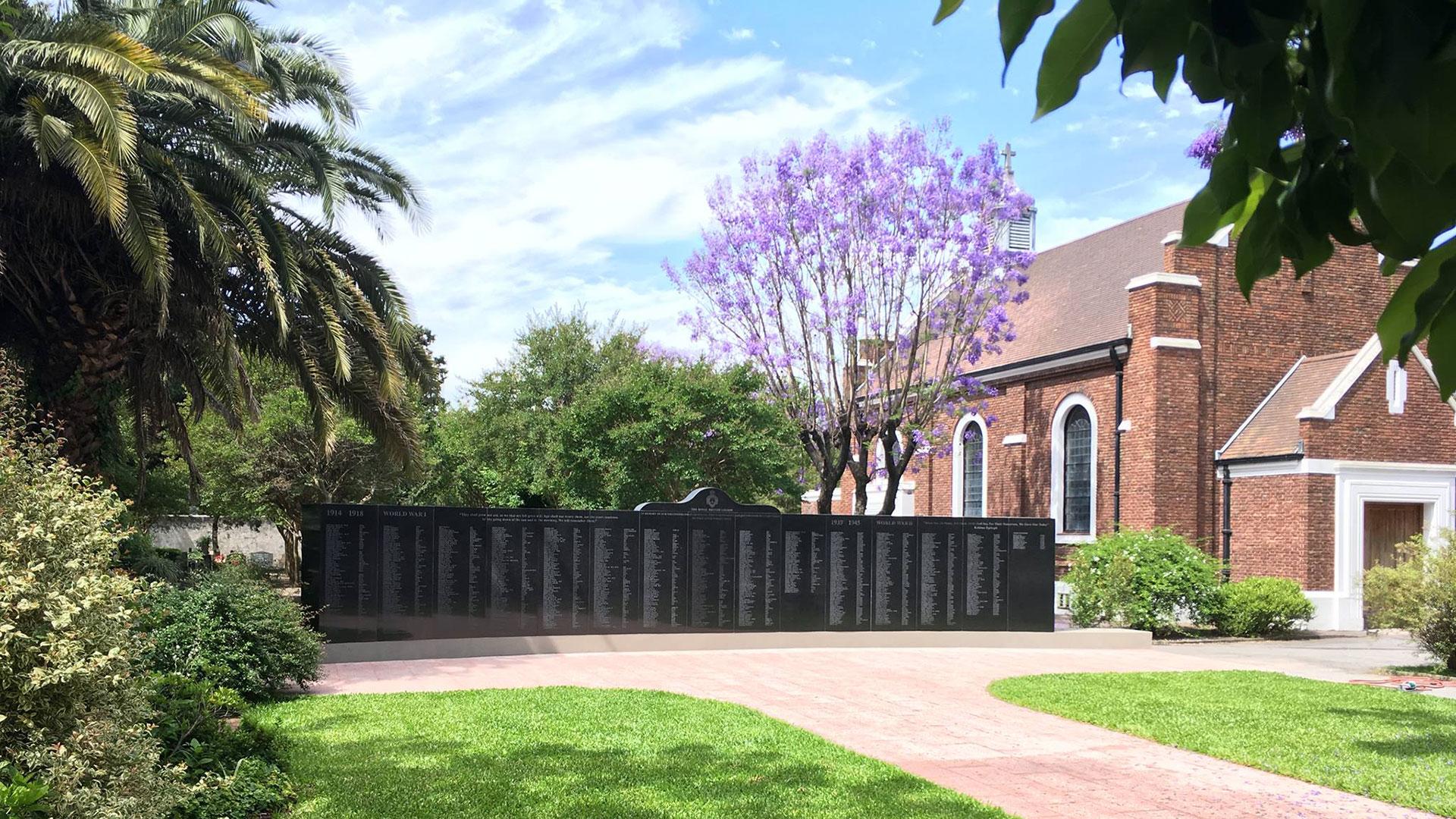 El sector británico en el Cementerio de la Chacarita