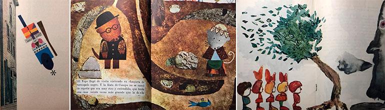 """Ilustraciones de """"Cuentos de Polidoro"""""""