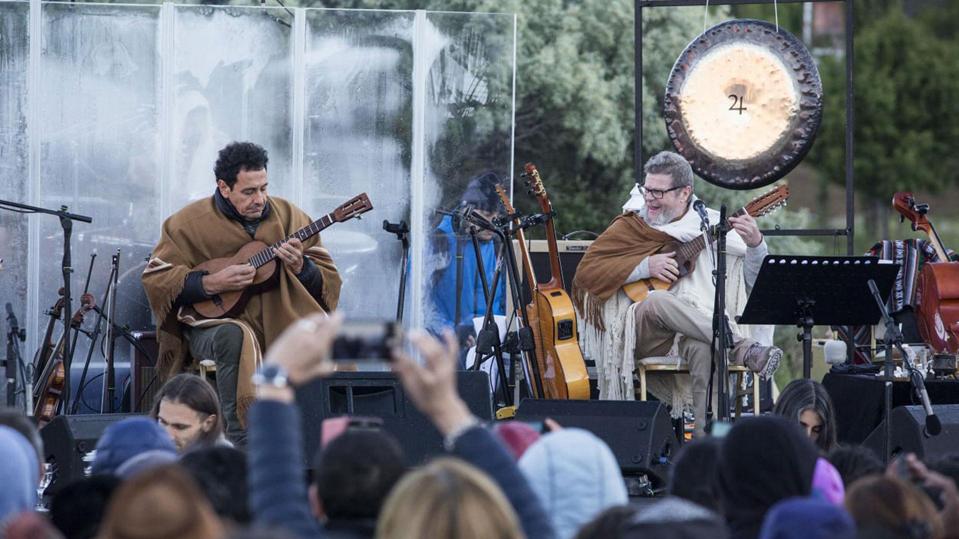 Música y más música (Foto: Nicolás Guerrero)