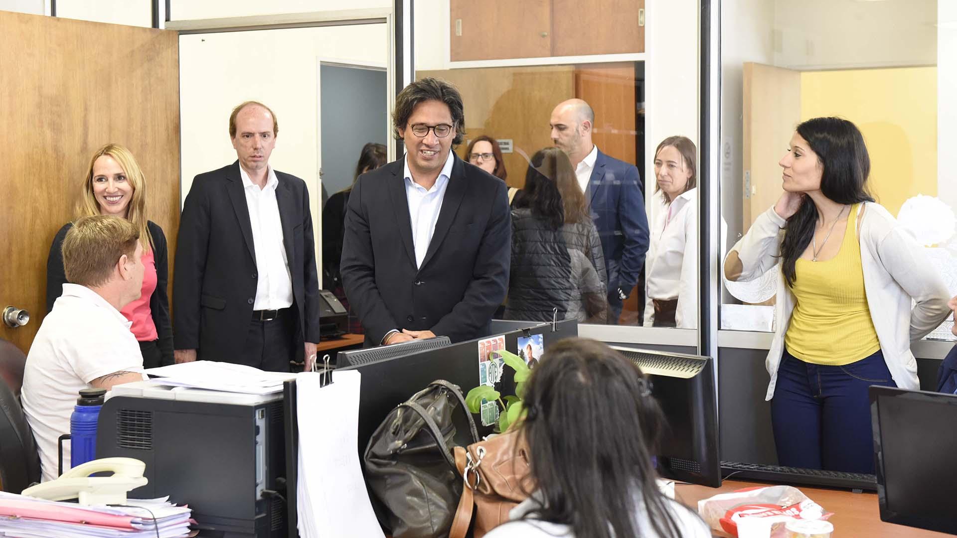 Garavano, ministro de Justicia y Derechos, en la IGJ