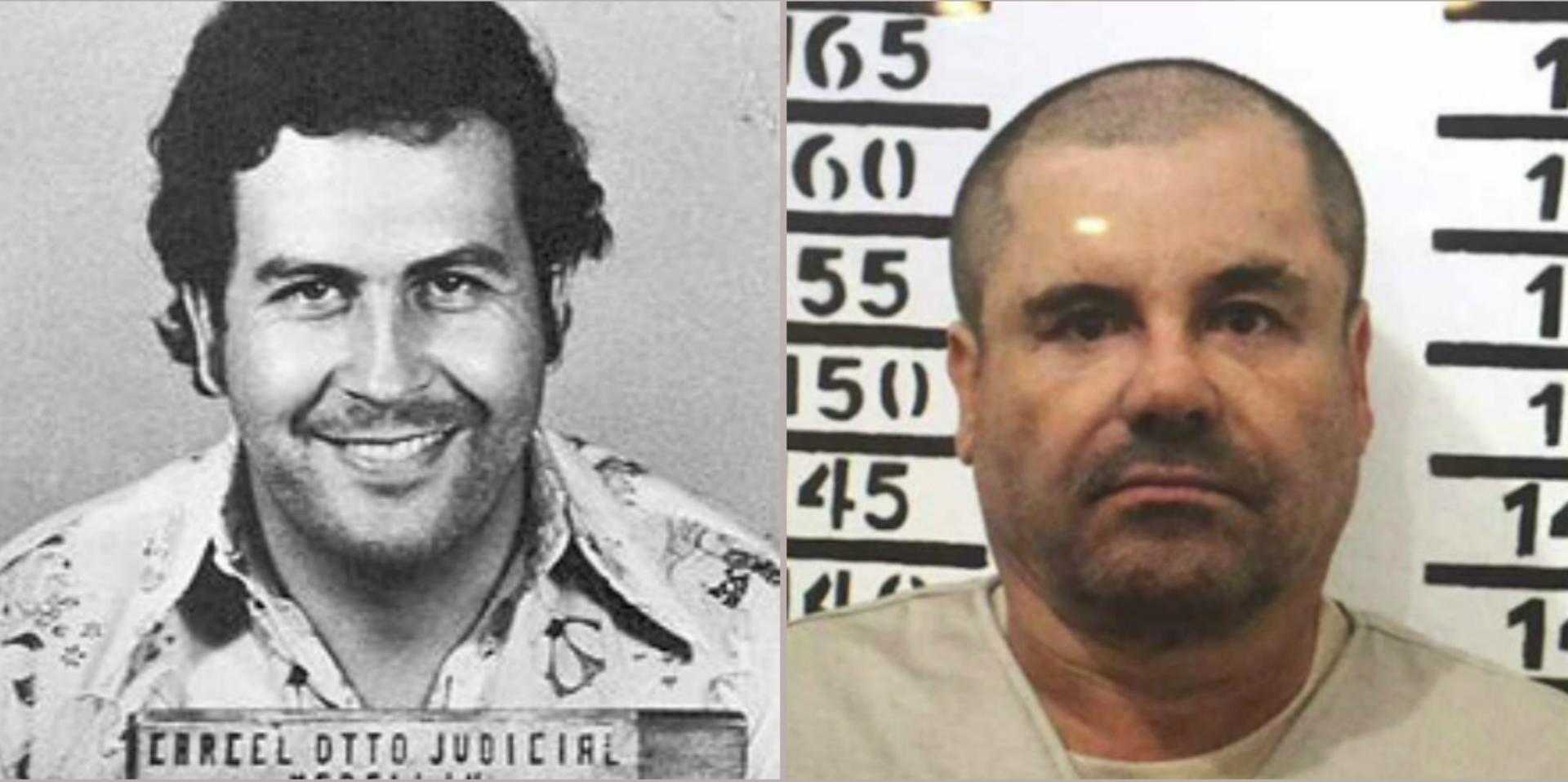 Escobar y Guzmán Loera son considerados los dos narcotraficantes más poderosos de la región