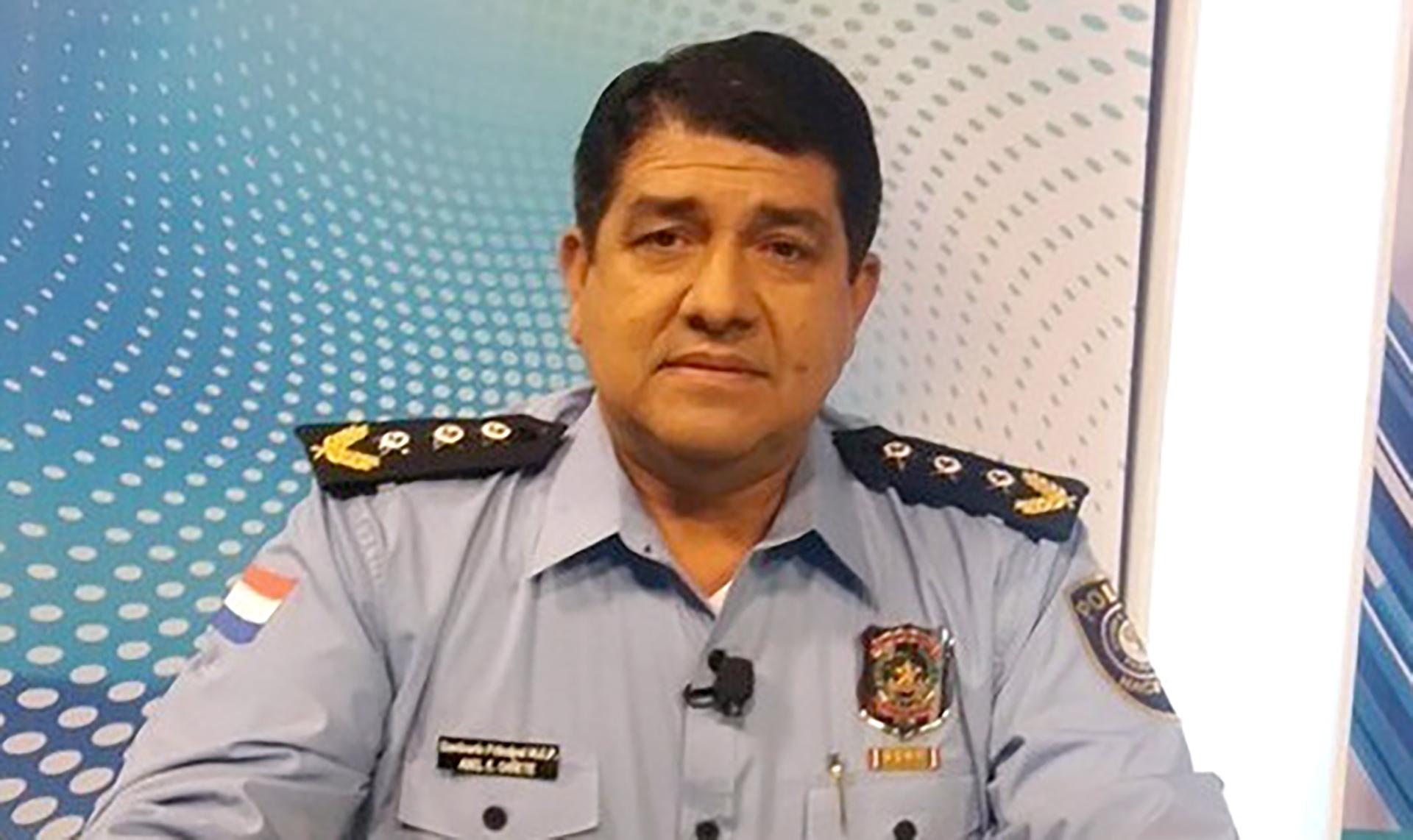 El comisario Alberto Cañete