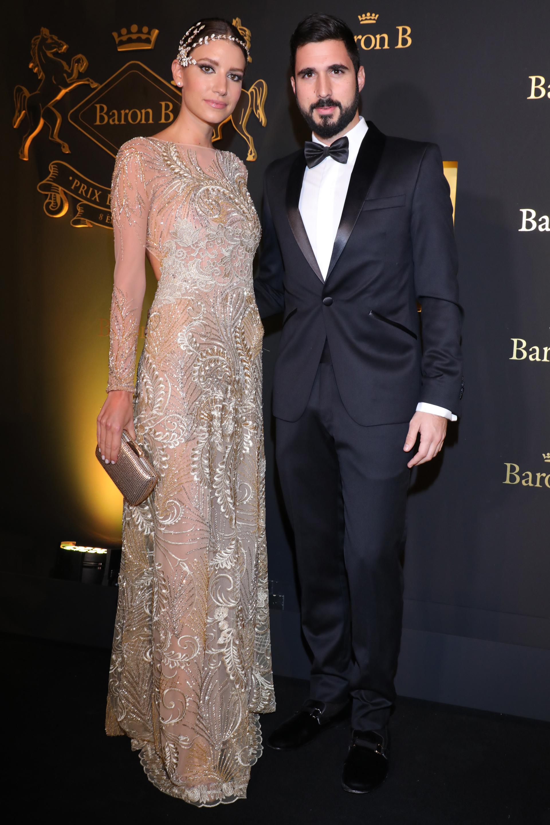 Angie Landaburu y Tomás Eurnekian.
