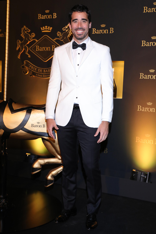 Nacho Viale en la 8° edición del Prix de Baron B, la noche solidaria más sofisticada de Buenos Aires, que desde hace 8 años se da cita de manera consecutiva.