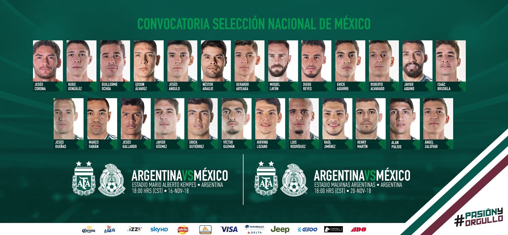 Lista la convocatoria de 25 jugadores para enfrentar a Argentina en la próxima fecha FIFA (Foto: Twitter Selección Nacional)