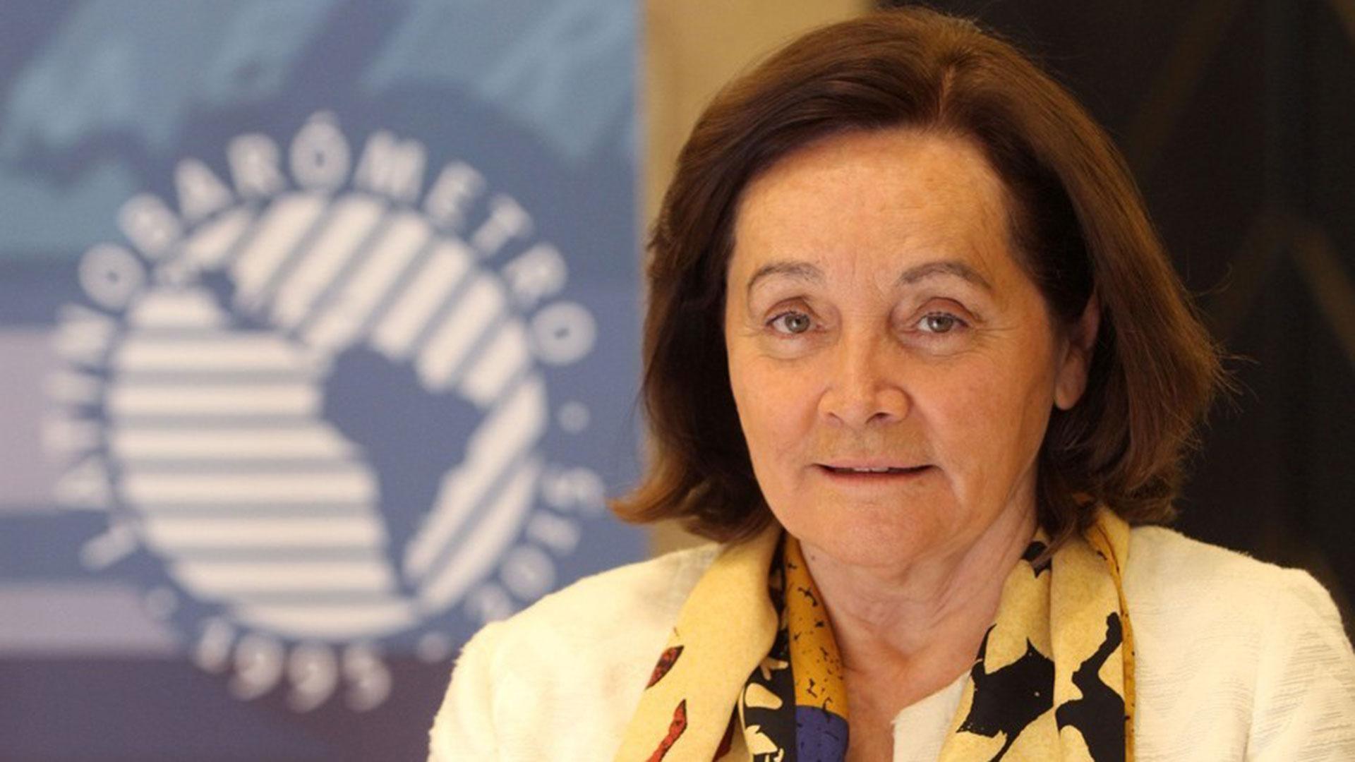 Marta Lagos, fundadora y directora de Latinobarómetro