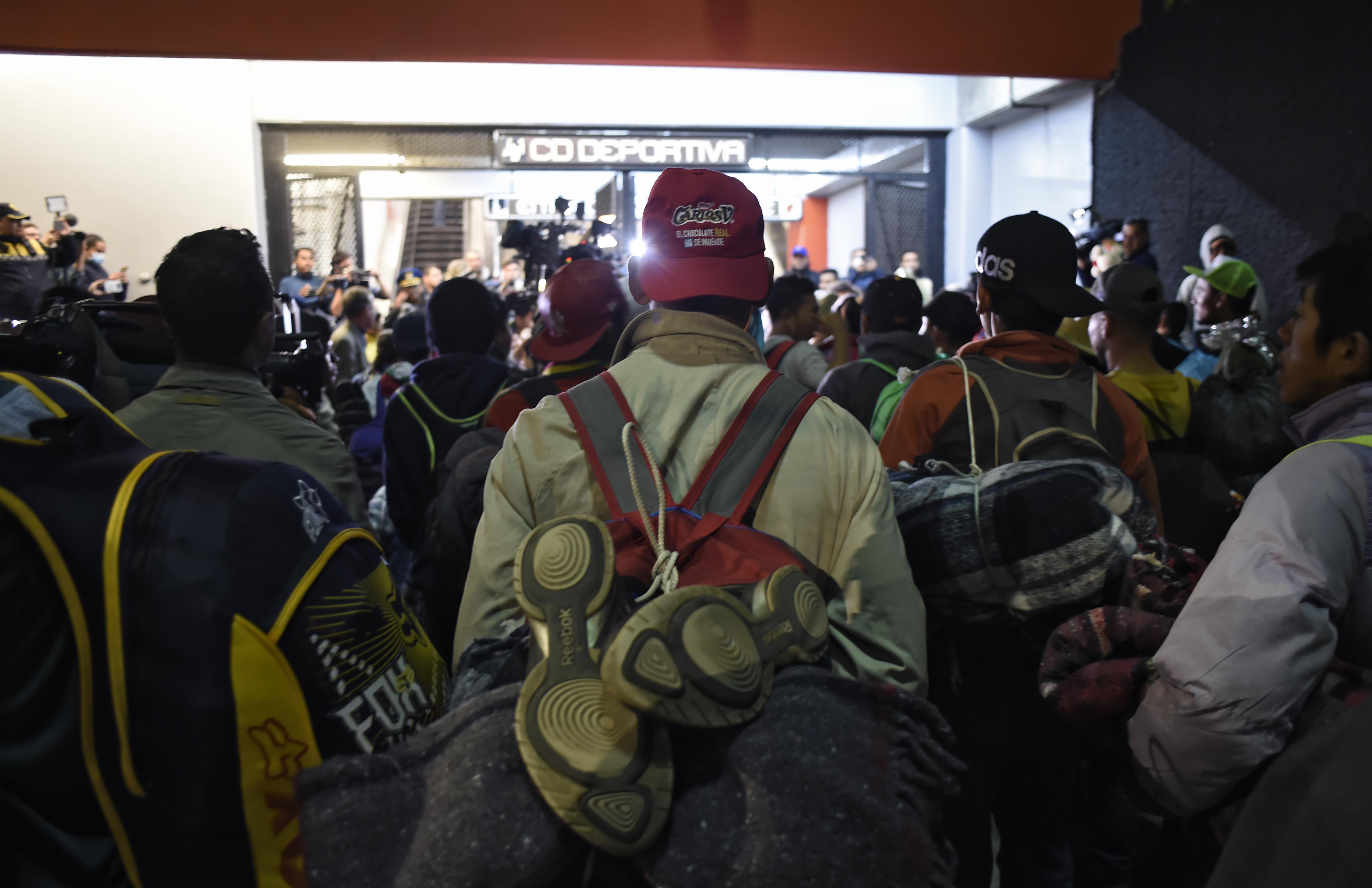 Más de 3000 personas han solicitado asilo en México informó a Infobae un funcionario de ACNUR.(Photo by Alfredo ESTRELLA / AFP)