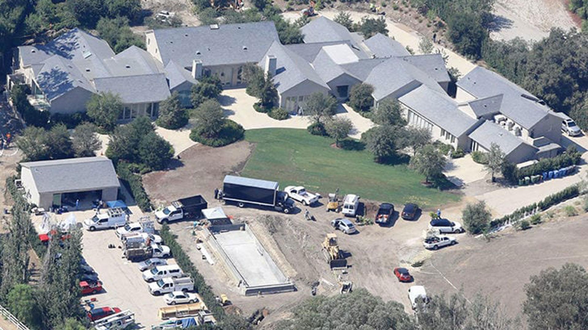 Así era la mansión de Kim Kardashian y Kanye West en Hidden Hills