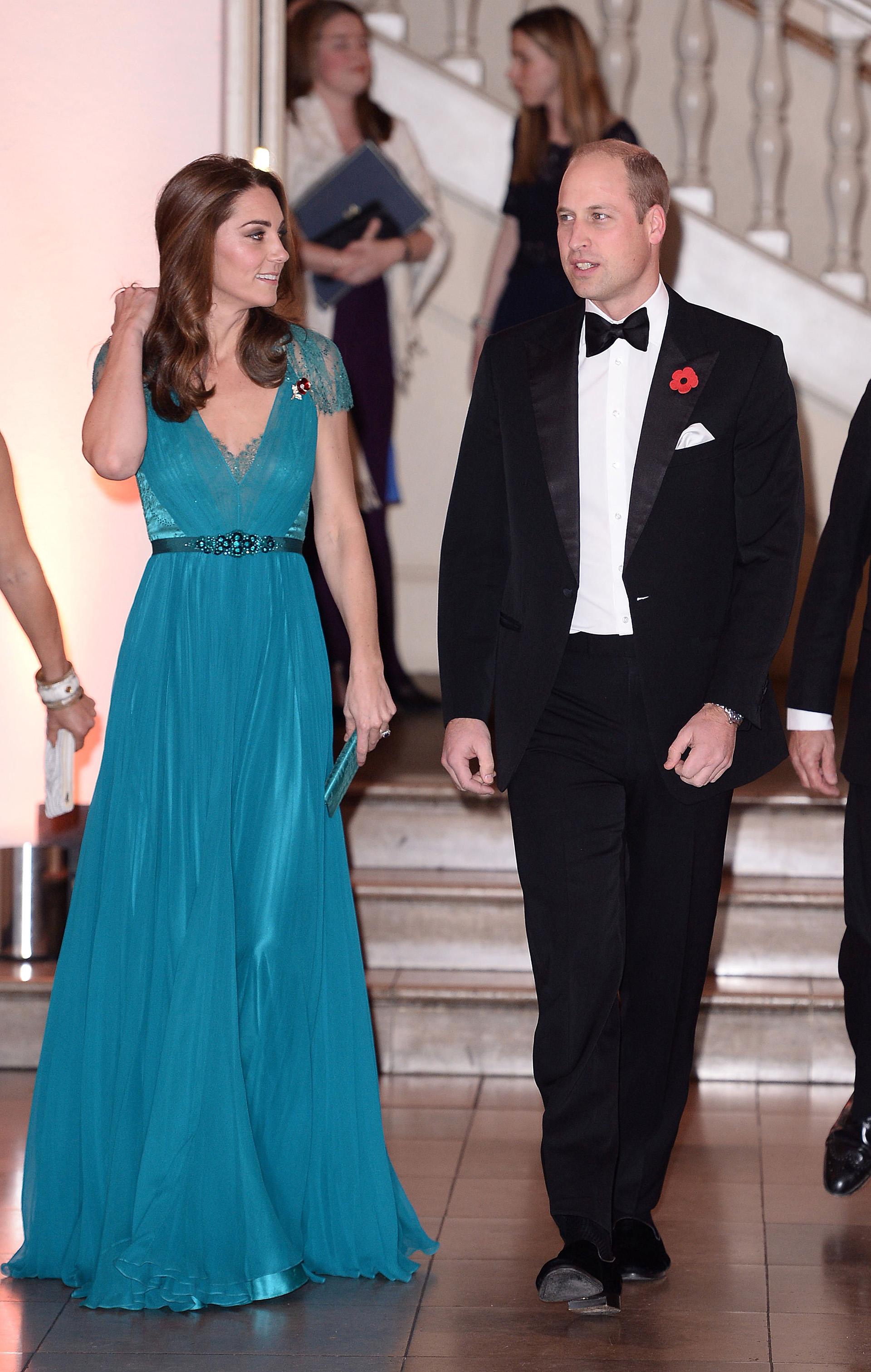 A los 36 años, Catalina se muestra plena y feliz acompañando a su marido en sus compromisos protocolares