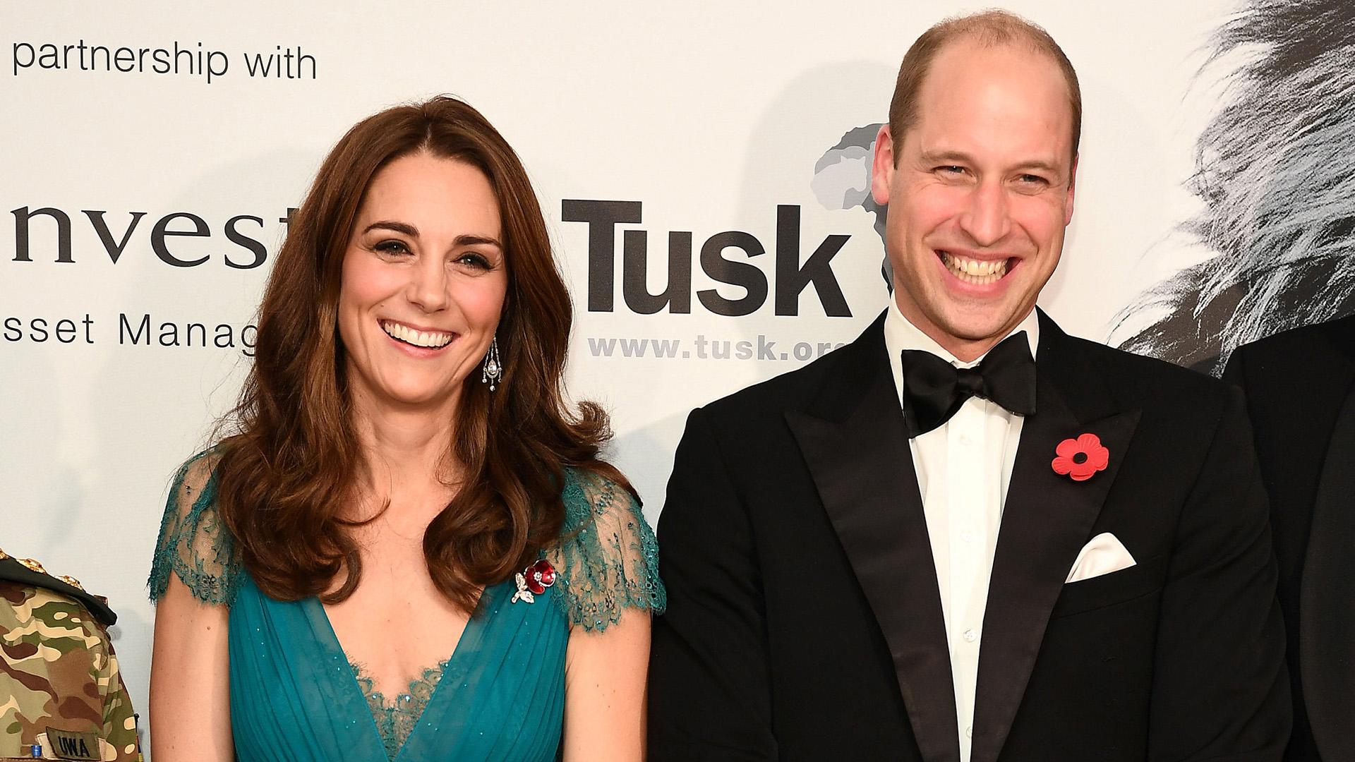 Los duques posaron para la prensa internacional