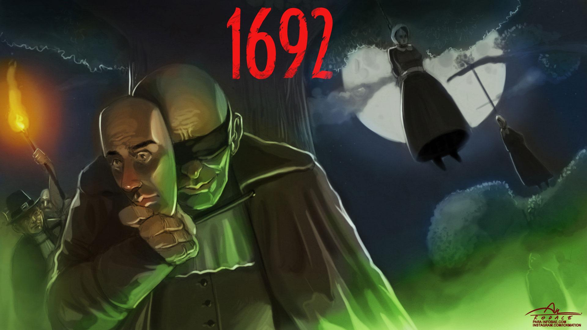 Las brujas de Salem (Ilustración: Rodrigo Acevedo Musto)
