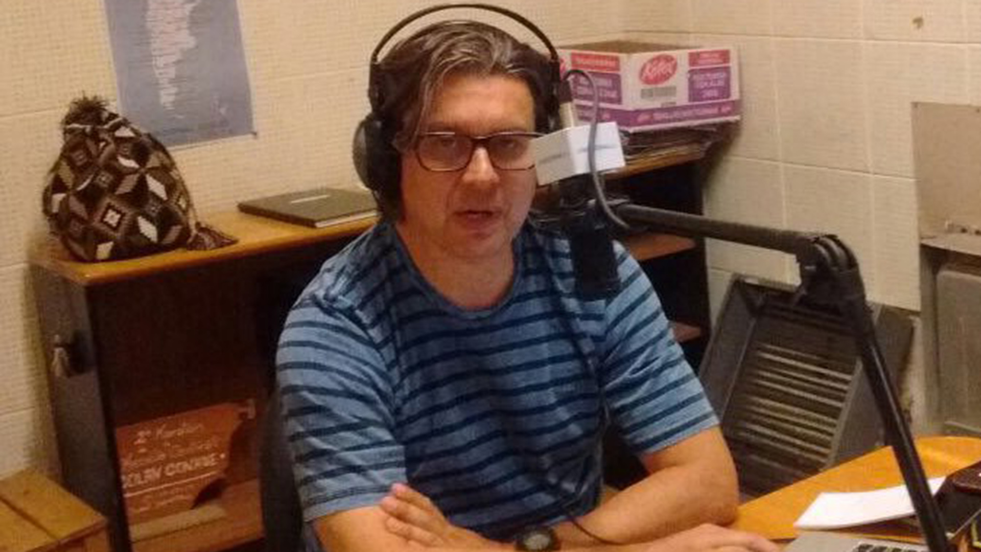 Aguiar tenía un programa sobre salud en Radio Nacional de Esquel: se lo levantaron (Twitter)