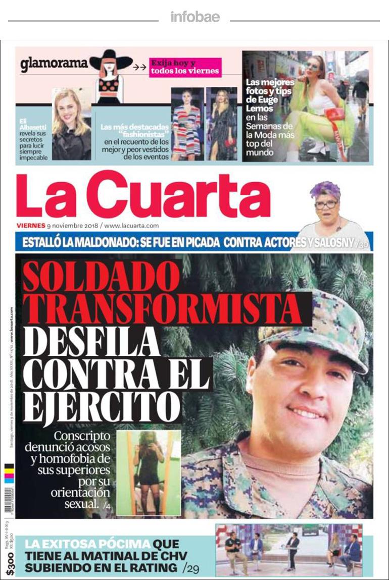 La Cuarta, Chile, 10 de noviembre de 2018 | RADIO PASION ...