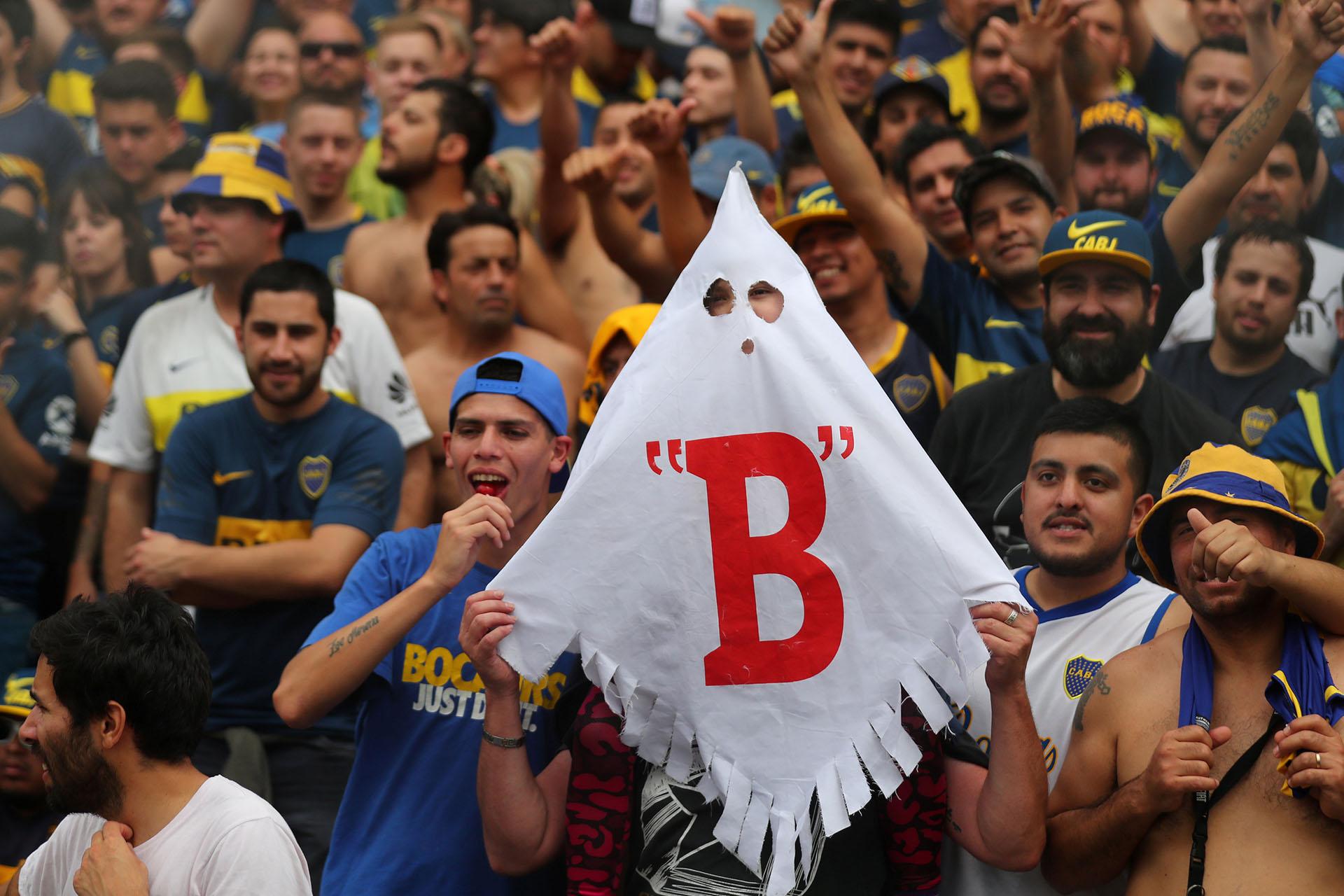 El fantasma de la B que nunca falta en los Superclásicos