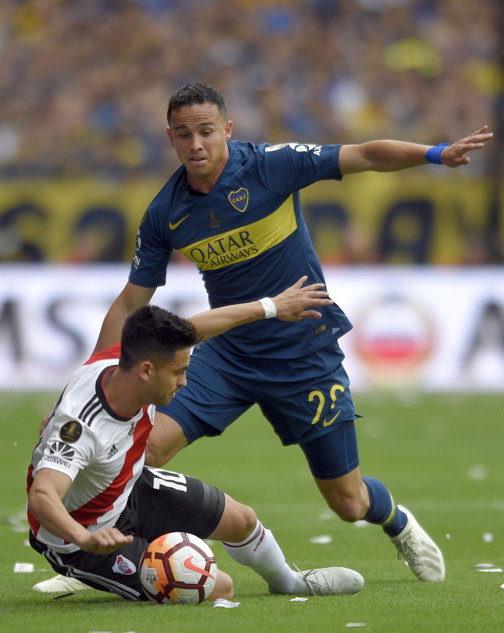 Martínez fue el eje del juego de River
