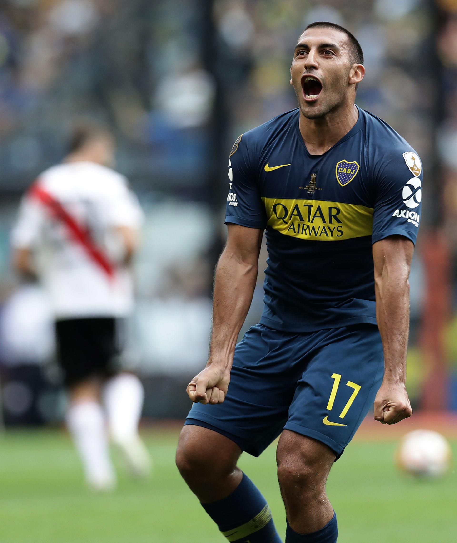 El delantero ya le había marcado al Palmeiras en la semifinal