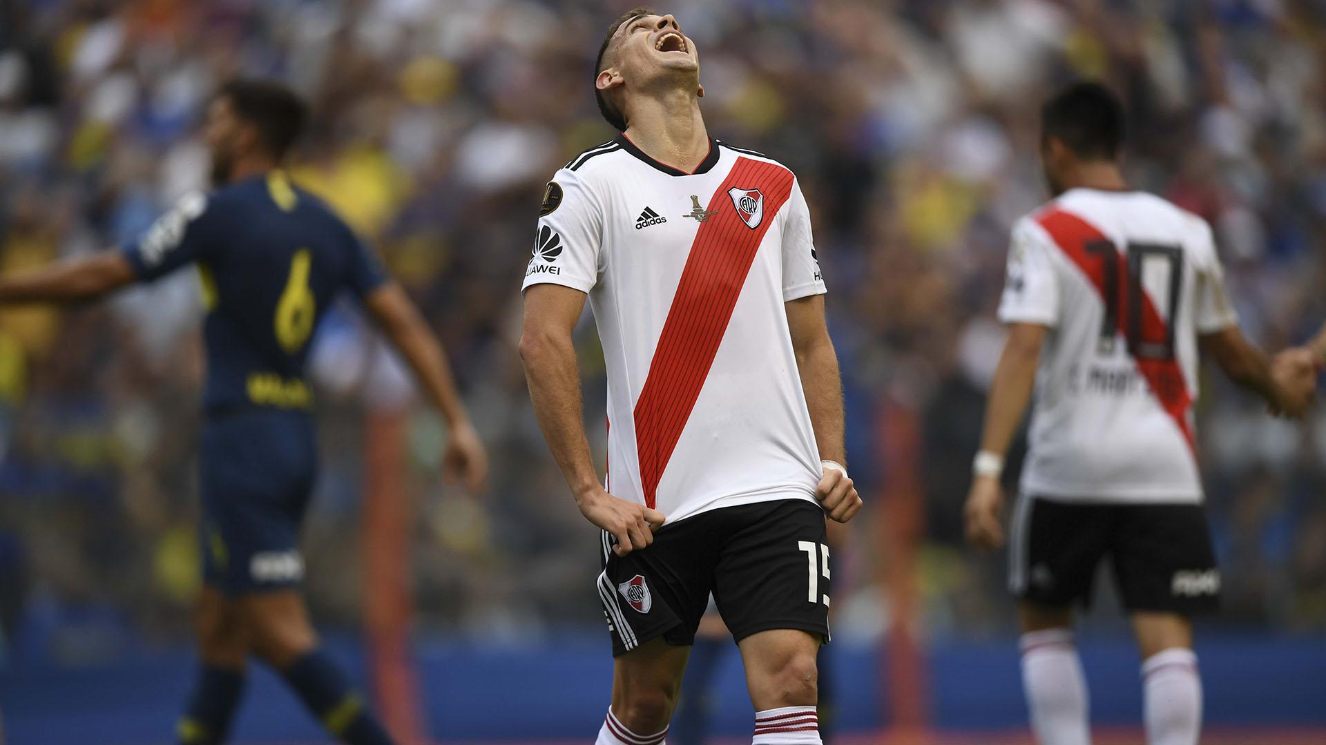 Santos Borré lo perdió en la marca y fue responsable del gol