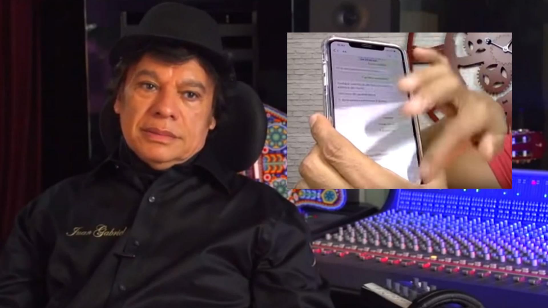 Juan Gabriel quiere volver pero no para cantar, afirma periodista mexicano (Foto: YouTube Juan Gabriel Club, productora69 )