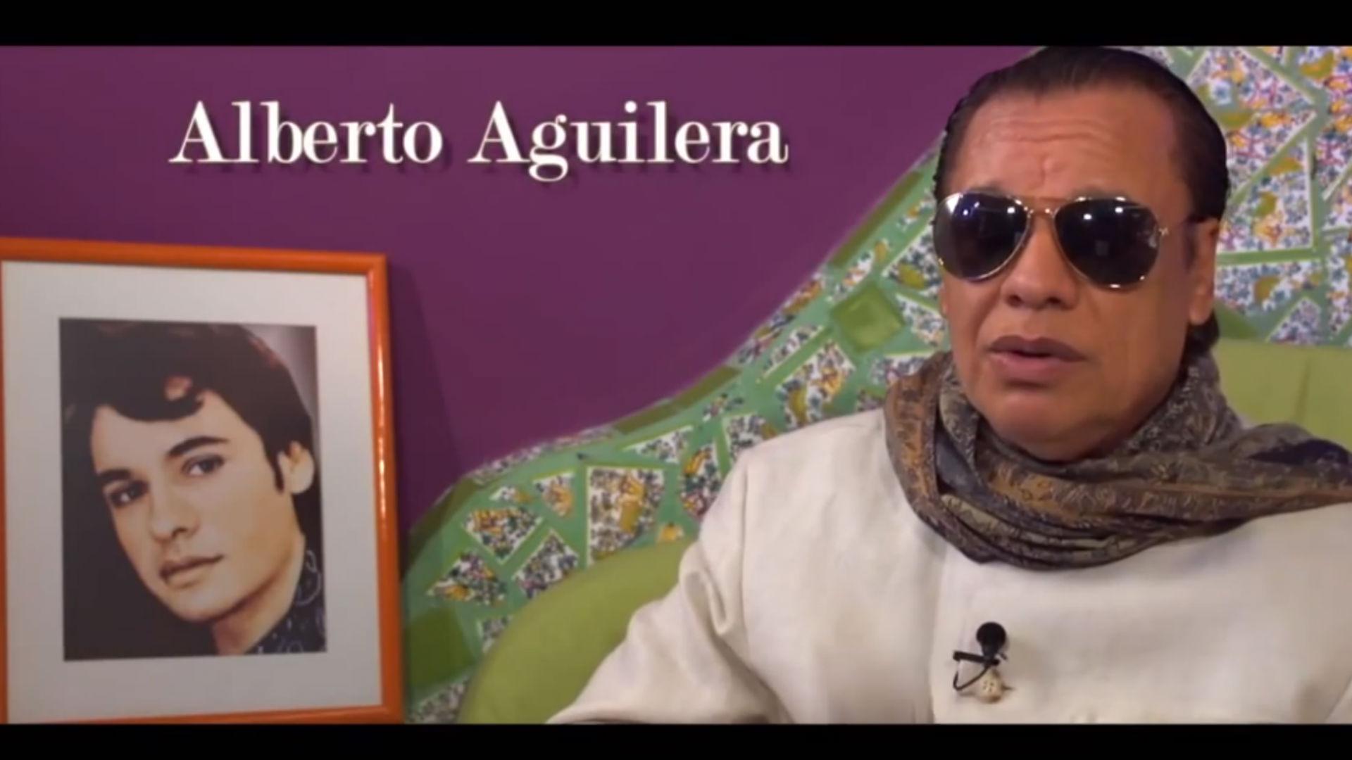 """Los músicos y coristas de Juan Gabriel siempre se dirigían a él como """"señor Alberto"""". (Foto: Youtube Juan Gabriel club)"""