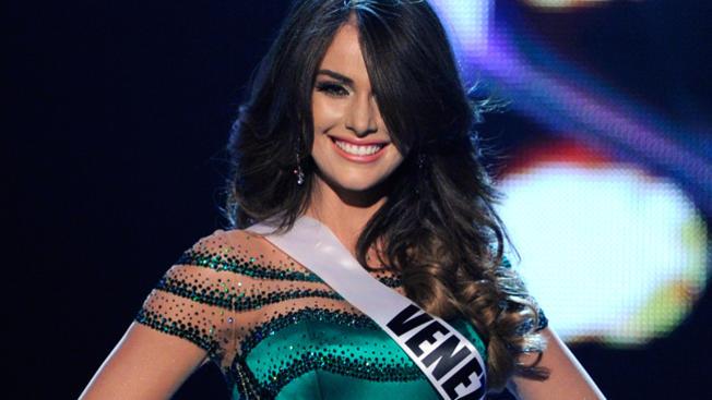 La ahora actriz fue Miss Venezuela en 2011 y un año mas tarde representó a su país en el Miss Universo (Foto: Getty)