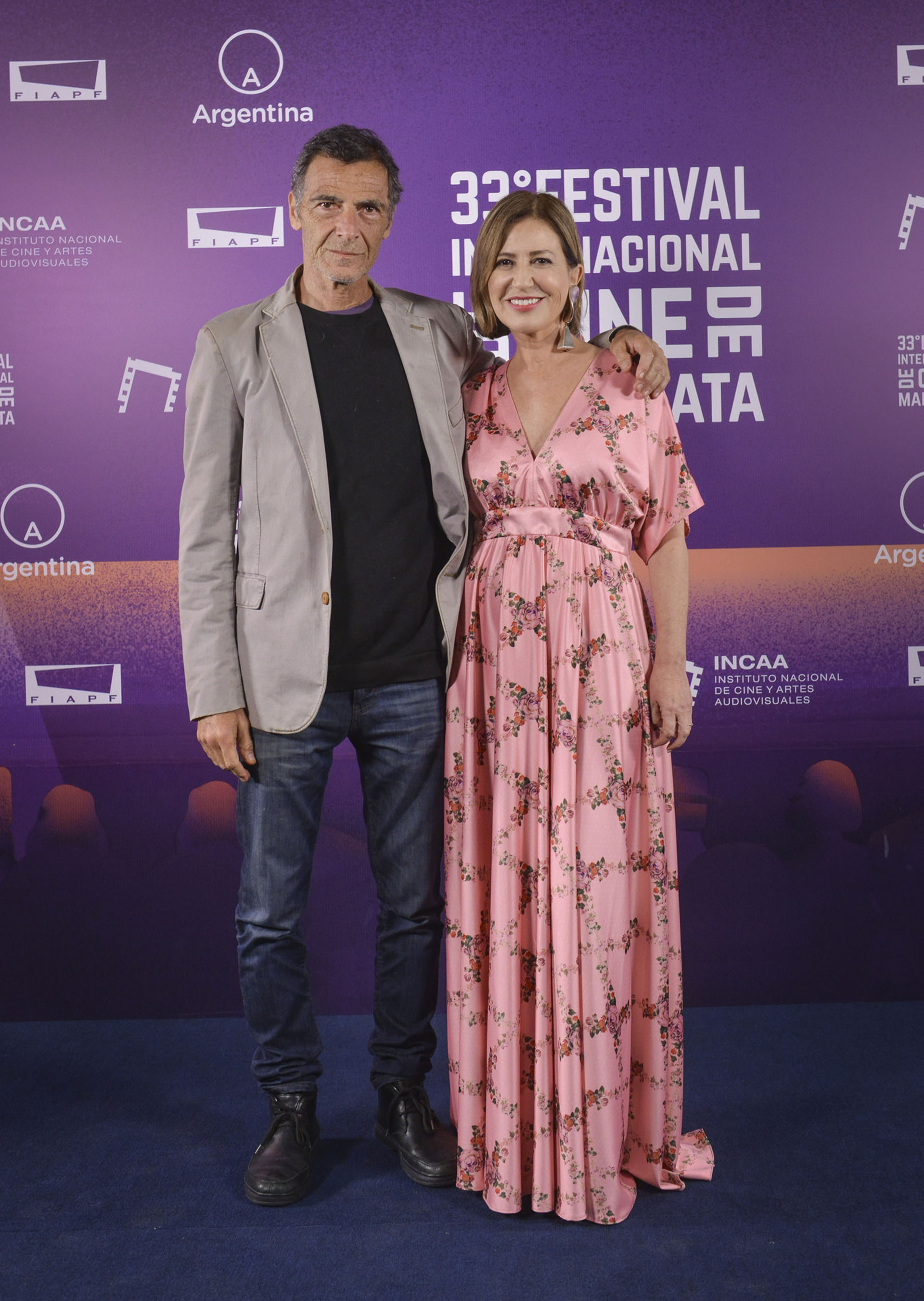 Gustavo Garzón y Mercedes Morán