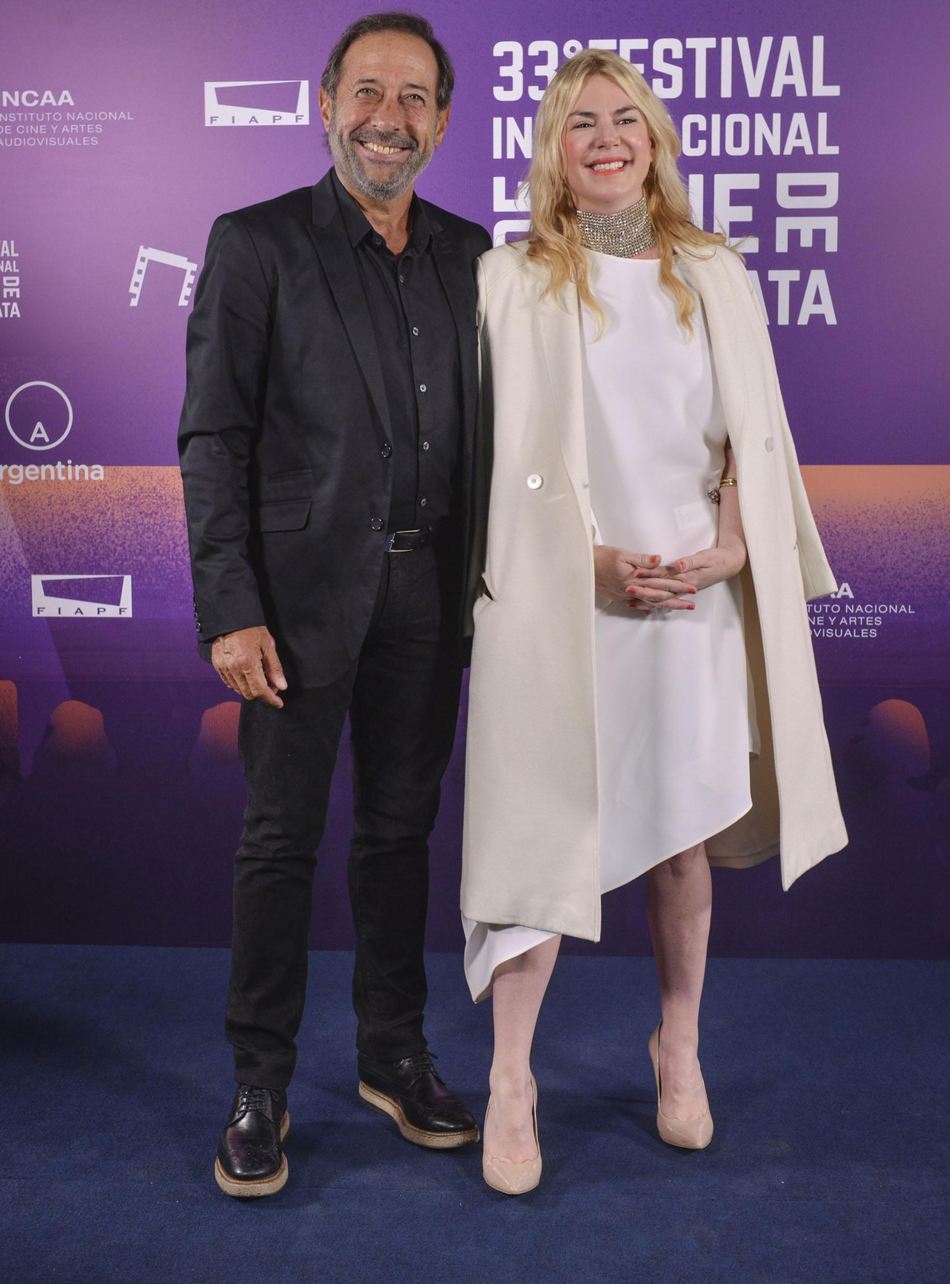 Guillermo Francella y Esmeralda Mitre