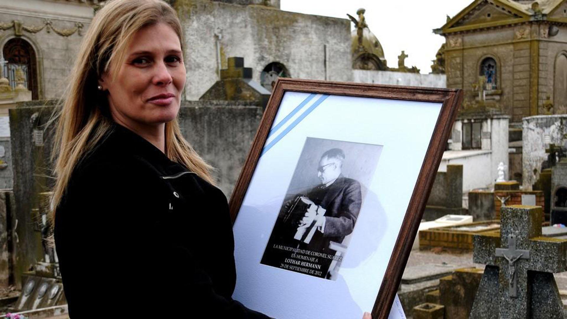Liliana Hermann, la sobrina nieta del hombre que ayudó a capturar a Eichmann