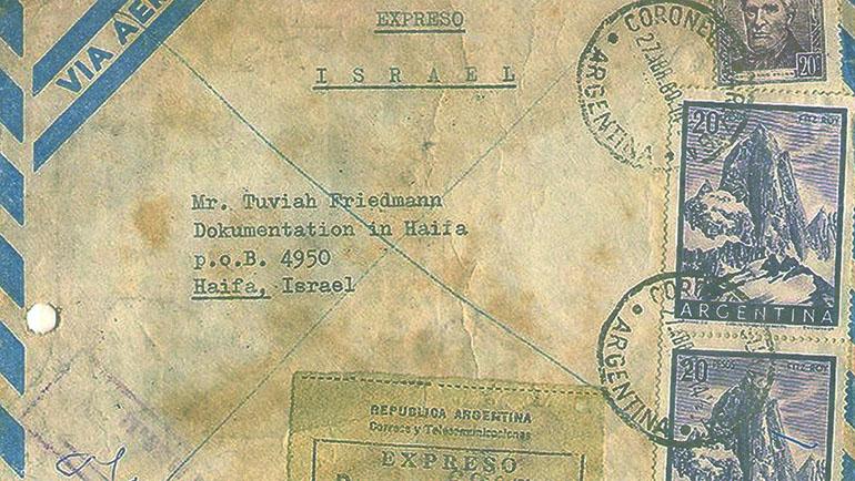 Hermann le escribió a Tuviah Friedman, director de un archivo israelí de búsqueda de nazis, para alertarlo sobre los datos erróneos de su pesquisa para encontrar al criminal nazi