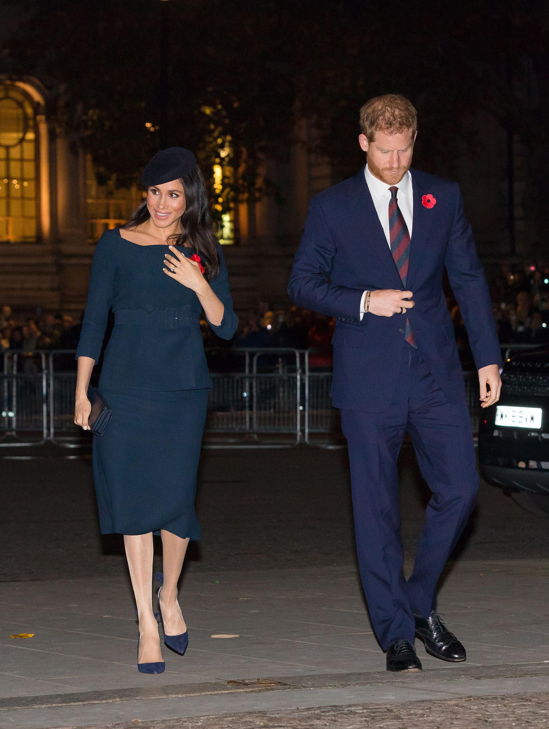 Meghan Markle y el Príncipe Harry se mudarán a Frogmore Cottage por la pelea que la ex actriz entabló con Kate Middleton (EFE)